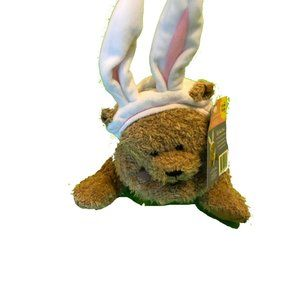 """NWT American Greeting 8"""" Soft Touch Easter Teddy"""